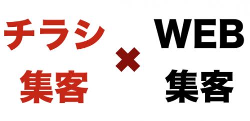 チラシ&WEB